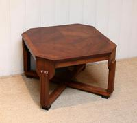 Low Walnut Art Deco Table (2 of 12)
