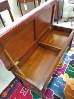 Victorian Adam Style Walnut Duet Stool (2 of 6)