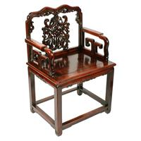 Qing Dynasty Hongmu Throne Chairs (3 of 8)