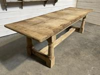 Large French Oak Rustic Farmhouse Dining Table (3 of 20)