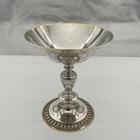 George V Sterling Silver Tazza London 1928 Theodore Rossi (3 of 10)