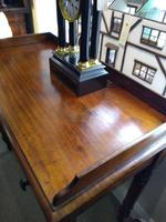 Victorian Mahogany Galleried Writing Table (5 of 6)