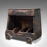 Antique Industrial Machinist's Truck, English, Trolley, Kitchen, Wine, Victorian (3 of 12)