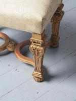 Antique Carved Giltwood Baroque Style Stool (8 of 9)