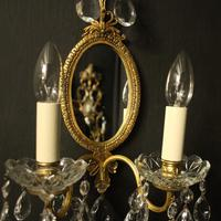 French Pair of Twin Arm Antique Girandoles (2 of 10)