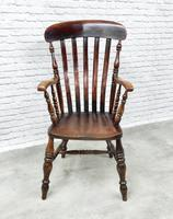 19th Century Lincolnshire Windsor Lathback Armchair (3 of 10)