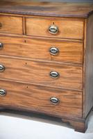 Antique Mahogany Chest of Drawers (6 of 13)