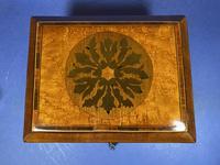 Regency Burr Maple  Jewellery Box With Inlay (7 of 16)