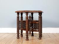 Antique Hexagonal Moorish Mashrabiya Table (2 of 5)