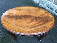 Antique Mahogany Coffee Table (4 of 5)