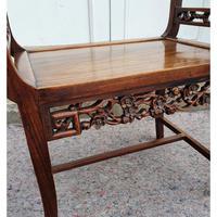 19th Century Chinese Hardwood Window Seat (5 of 7)