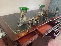 Large Georgian Style Double Sided Partners Desk (31 of 51)