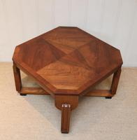 Low Walnut Art Deco Table (10 of 12)