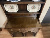 Titchmarsh & Goodwin Georgian Style Small Welsh Oak Dresser (4 of 11)