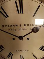 London, Twin-Fusee, Bell Striking Wall Clock (4 of 5)