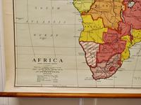 """Large University Chart """"Africa Physical """"  by Bacon (4 of 4)"""