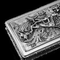 Rare Antique Georgian Solid Silver Mazeppa Snuff Box - Edward Smith 1836 (11 of 23)
