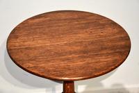 George III Oak Tilting Lamp / Wine Table (2 of 5)