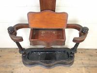 Victorian Mahogany Tree Shaped Hall Stand (6 of 10)