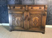 Quality Carved Oak Sideboard (2 of 14)