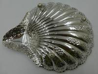Antique Silver Shell Dish - Sheffield 1901 (6 of 6)