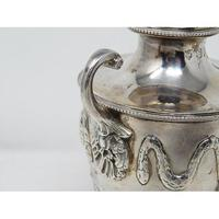 Pair of Ornate Heavy Victorian Hallmarked Silver Sugar Shakers (5 of 7)