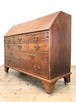 Large Georgian Oak Writing Bureau (11 of 13)