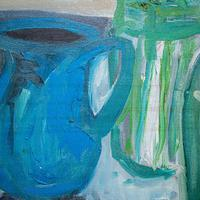 Large Still Life with Lillies – Oil on Canvas (6 of 8)
