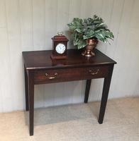 Early 19th Century Oak Side Table (8 of 10)