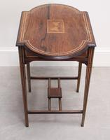 Edwardian Rosewood Occasional Table (4 of 7)