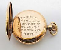 1930s James Walker London Pocket Watch Made by Record (4 of 6)