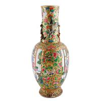 19th Century Chinese Canton Vase (2 of 8)
