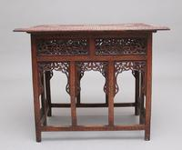19th Century Carved Indian Occasional Table (4 of 9)
