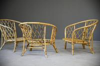 Single Bamboo Cane Tub Chair. (8 of 12)
