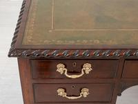 Mahogany Chippendale Style Writing Desk (4 of 12)