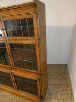Pair of Oak 1920s Bookcases (9 of 12)