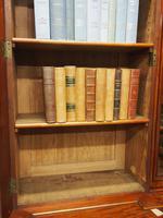 Victorian Mahogany Breakfront Cabinet Bookcase (4 of 19)