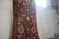 Extremely Long Early 20th Century Kuba Kelleh Corridor Carpet - Rug (2 of 11)