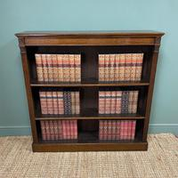 Quality Arts & Crafts Victorian Oak Large Open Bookcase (5 of 6)