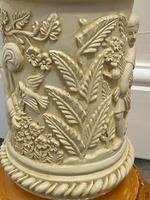 Dutch Golden Age Style Gilt Harvest Relief Plinth Display Torcheres (30 of 87)