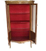 French Display Cabinet Vernis Martin Painted Bijouterie c.1900 (10 of 16)