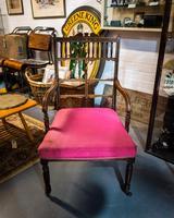 Fabulous Edwardian Inlaid Armchair