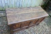 18th Century Country Oak Coffer (4 of 9)