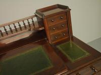 Victorian Mahogany Dickens Desk (8 of 12)