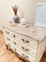 French Antique Style Drawers / Parquet Chest of Drawers / Louis XV Style Drawers (4 of 10)