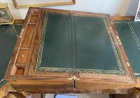 Victorian Brass-bound Walnut Writing Slope with Secret Drawers (19 of 39)