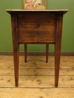 Small Rustic Antique Pine Table with Fall Front (13 of 17)
