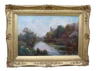 Arundel, West Sussex Oil Painting by John Horace Hooper (2 of 2)
