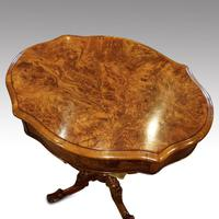Victorian Oval Walnut Work Table (7 of 8)