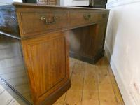 Neat 18th Century Partners Desk (9 of 15)